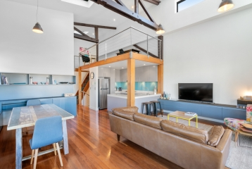 INDUSTRIAL MEETS MODERN FULLY-FURNISHED MASTERPIECE